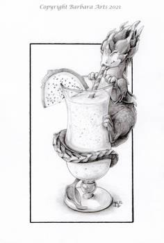 31 Days of Art - #29 Milkshake