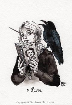 Inktober 2021 - #5 Raven