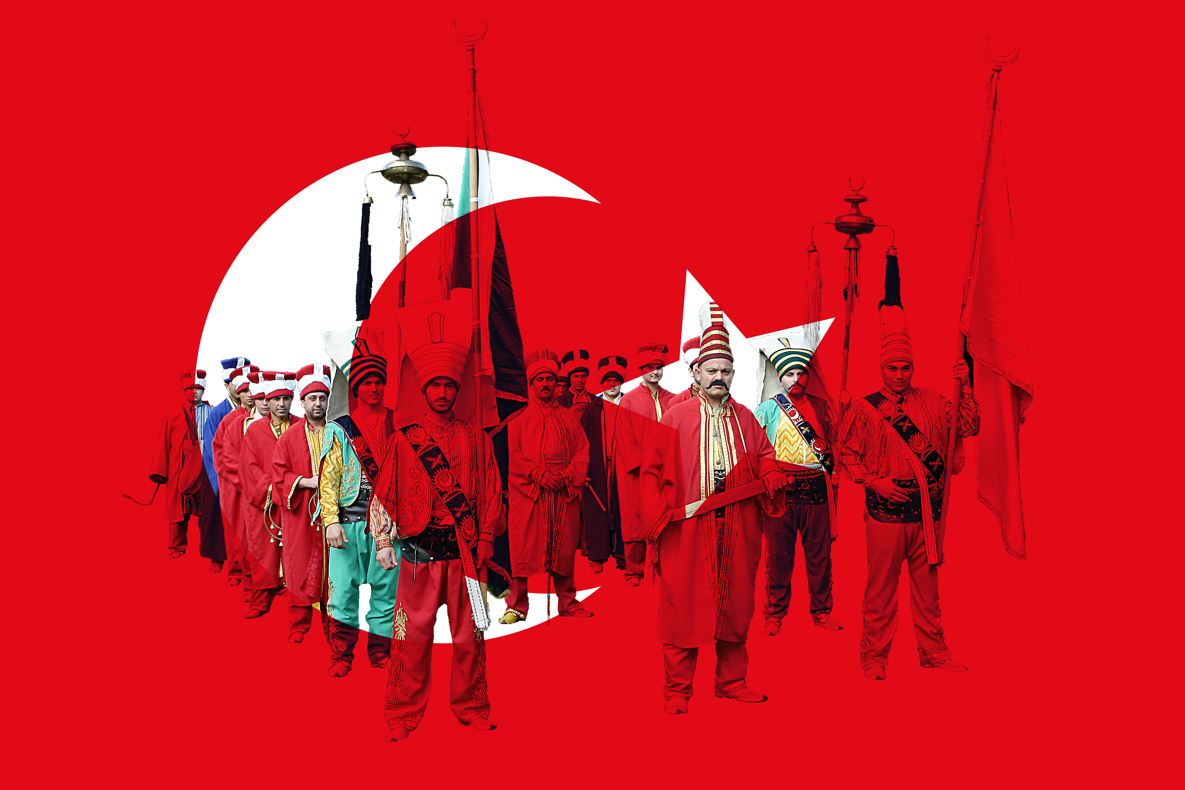 Mehterrane Ottoman Empire Wallpaper By Tulparturkartist On