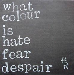 where did the colour go? by essencestudios