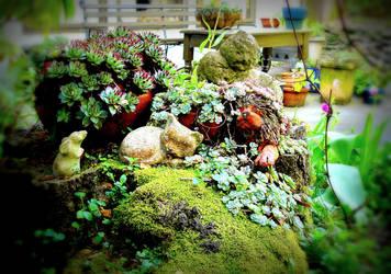 my friends garden by essencestudios
