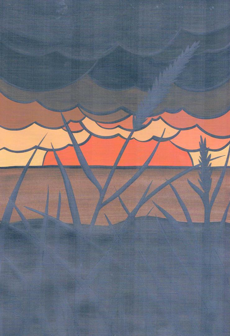 erics sunset doodle by essencestudios