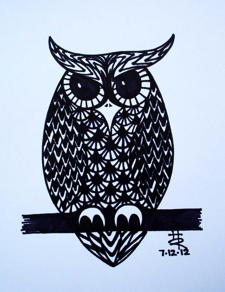 owl by essencestudios