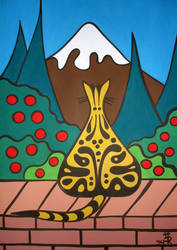 Yellow Tabby by essencestudios