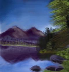 Landscape Speed Paint 2 by ImagineRabbit