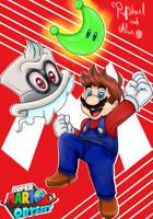 Super Mario Odyssey by almirlima