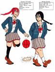 Kazumi and Motoko