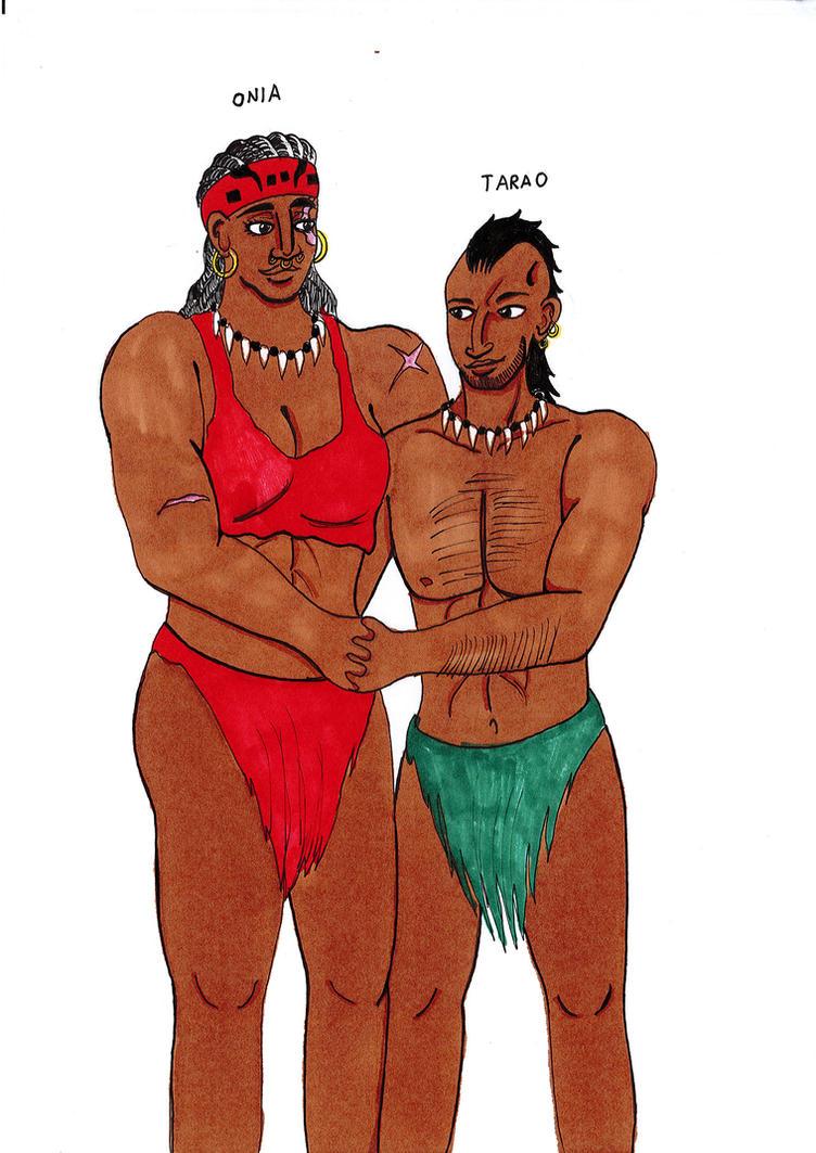 Onia and Tarao by juha91