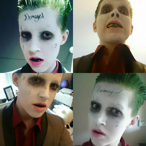 Suicide Squad Joker Cosplay Selfie Compilation by LSPcosplay