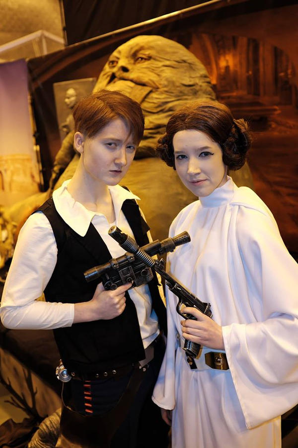 Star Wars: The Princess and the Smuggler by LSPcosplay