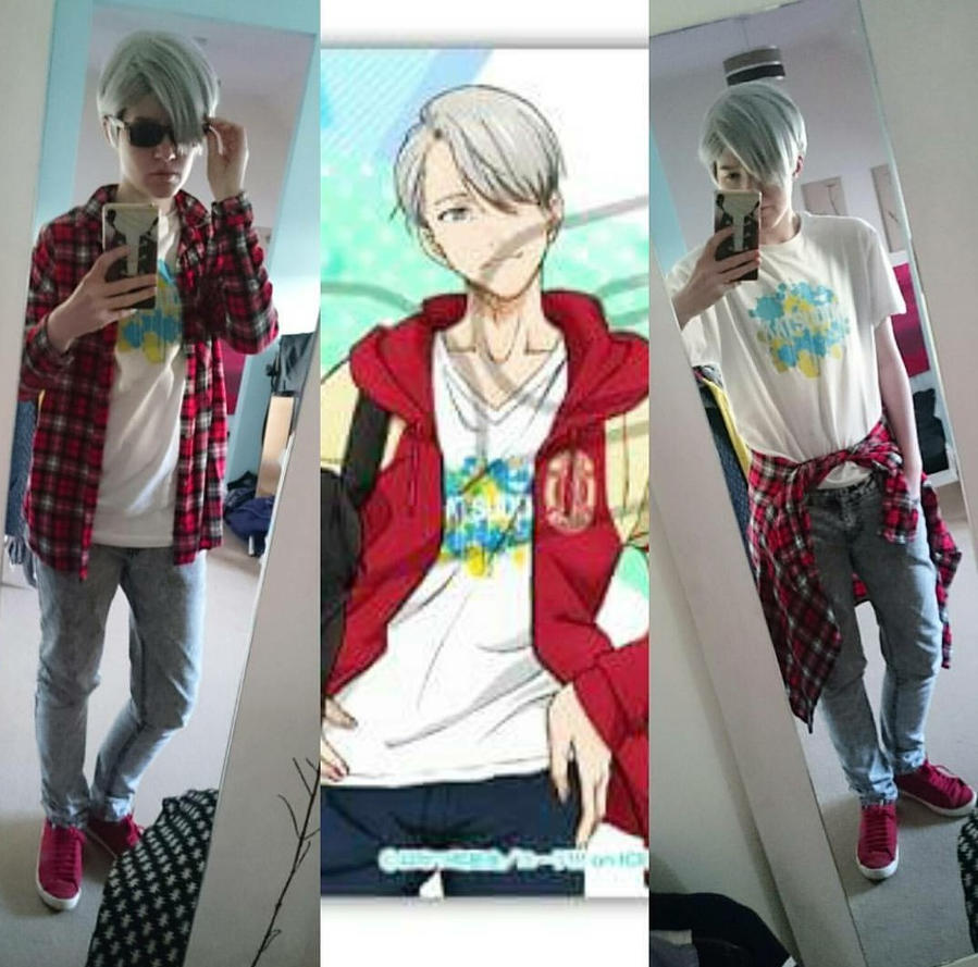 Yuri On Ice: Casual Viktor Cosplay  by LSPcosplay