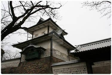 Kanazawa's Castel.