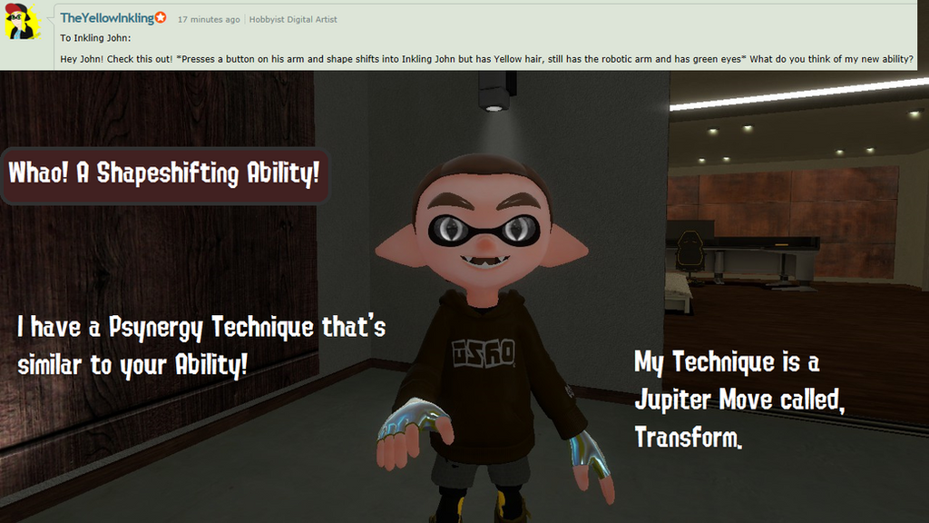 Ask the Splat Allies #20 - Shapeshifting Ability by TheCriticalKidd