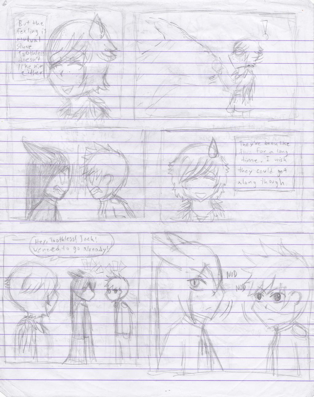 RoTBTD Epic AU Page 6 (WIP) by pokemonlovinggirl