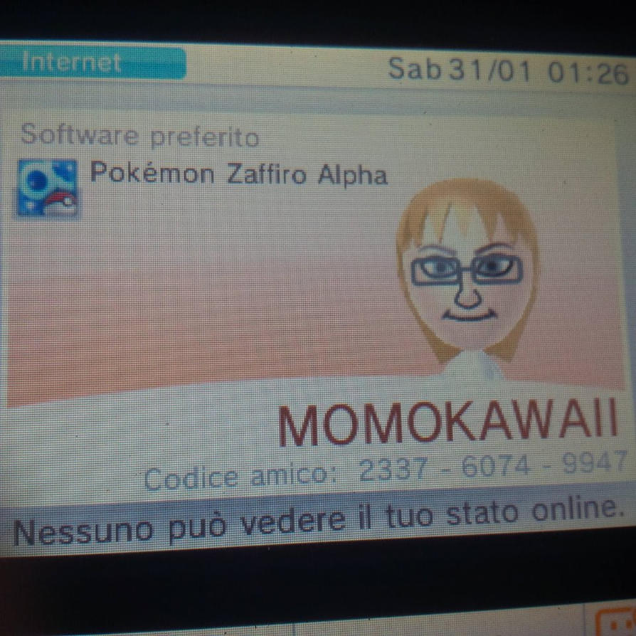 Friend code Pokemon Alpha Sapphire by OperaMorgana