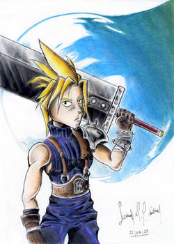 Cloud Strife (Final Fantasy VII) - Fanart