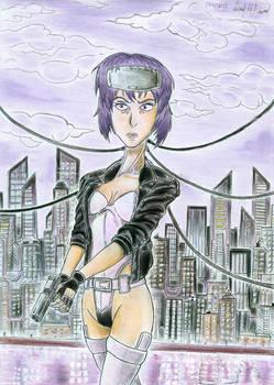 Motoko Kusanagi (Ghost In The Shell) - Fanart