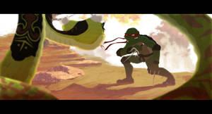 Kung fu vs Ninjutsu part 2 by Andry-Shango