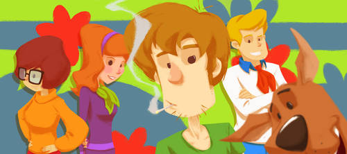 Scooby Gang by Andry-Shango
