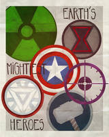 The Avengers by Andry-Shango