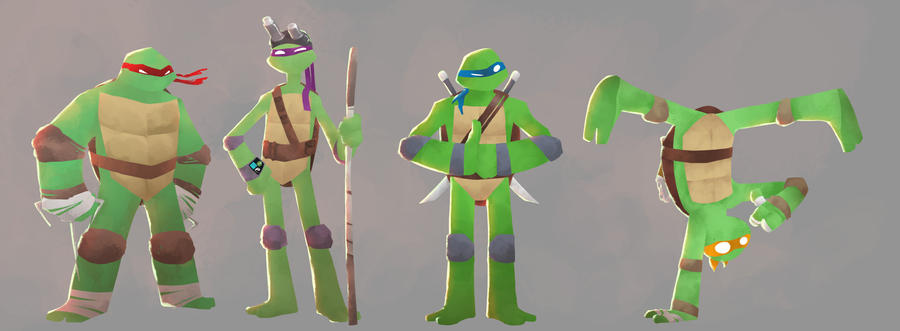 TMNT by Andry-Shango