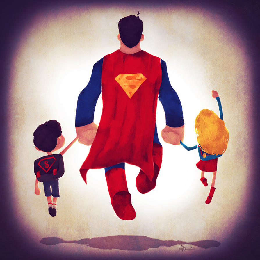 Superdad by Andry-Shango