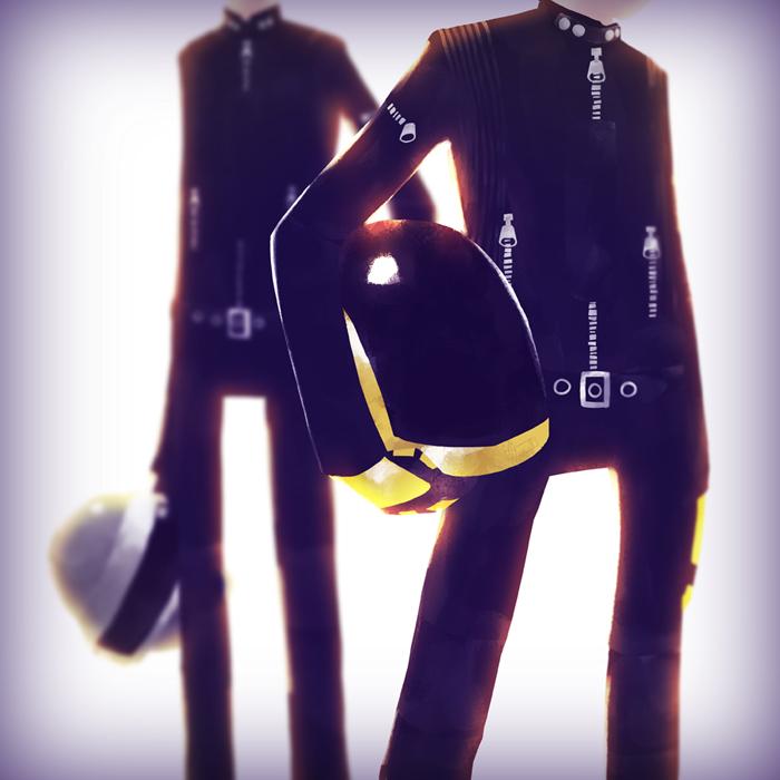 Daft Punk by Andry-Shango