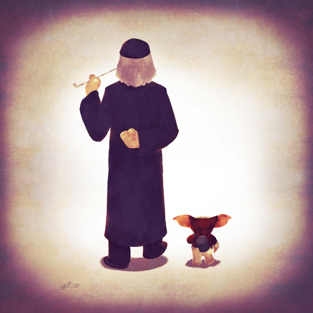Mogwai Dad by Andry-Shango