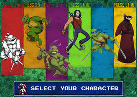 Turtles In Time by Andry-Shango