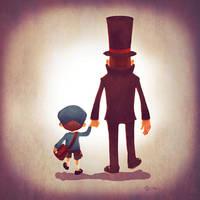 Family of Gentlemen by Andry-Shango