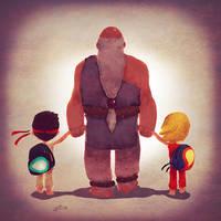 World Warriors Family by Andry-Shango