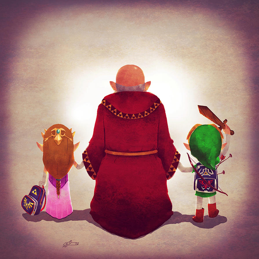 Family from Hyrule by Andry-Shango