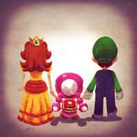 Luigi Family by Andry-Shango
