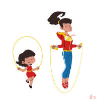 Wonderful Jumping Rope by Andry-Shango