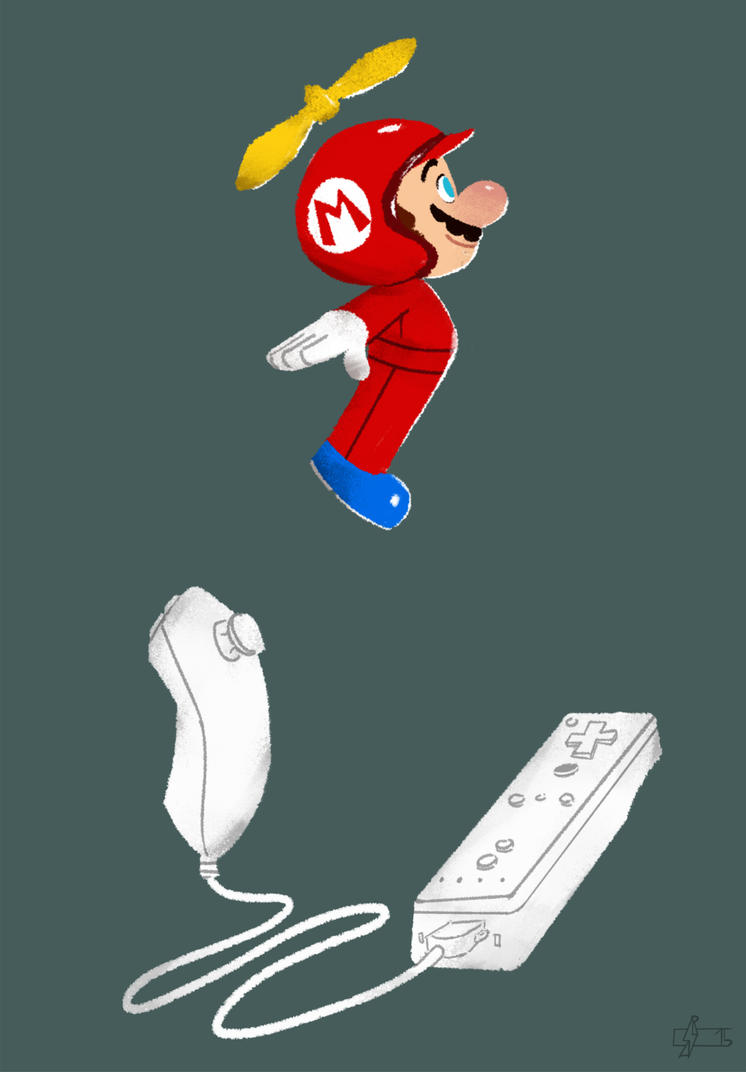 New Super Mario Bros Wii on Wii by Andry-Shango