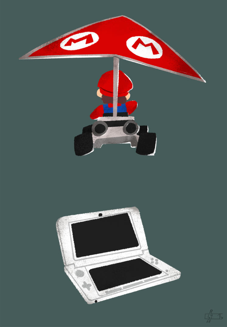 Mario Kart 7 on Nintendo 3DS by Andry-Shango