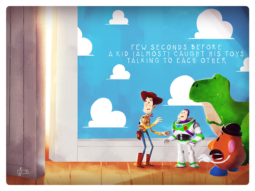 Toy Story by Andry-Shango