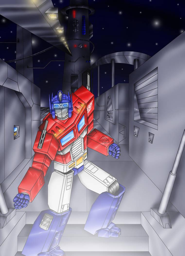 Optimus Prime reaches out