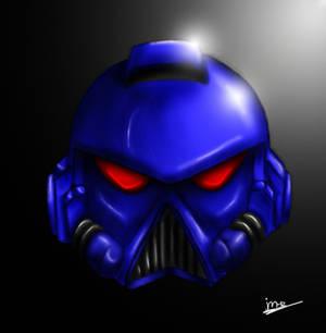 Space Marine Head