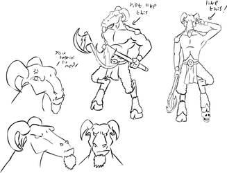 Beastman concept