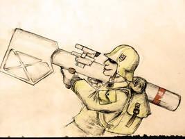 Metal Slug Morden Soldier by alekksandar
