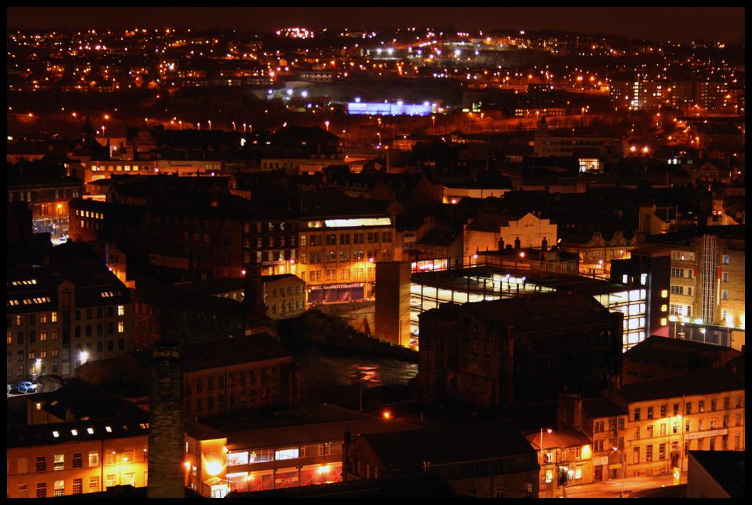 Bradford Buildings Night By Bushawk On DeviantArt