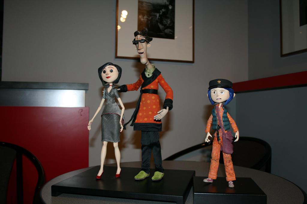 Coraline Cast By Bushawk On Deviantart