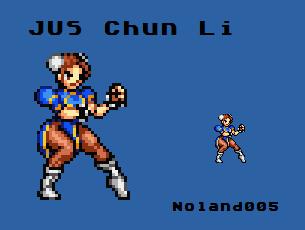 Sprite Contest1: Chun Li by Noland005