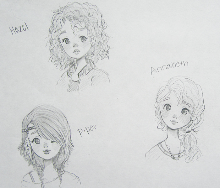 Girls of the 7 by AngelArt123