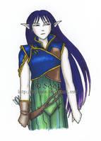 Artea the Elf by Sootness