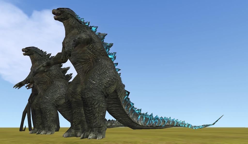 !!DESIGN SPOILERS!! Godzilla! by Mossasaurus on DeviantArt