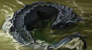 Weird Crocodile