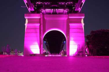 The Purple Arches by Uzaiyaro