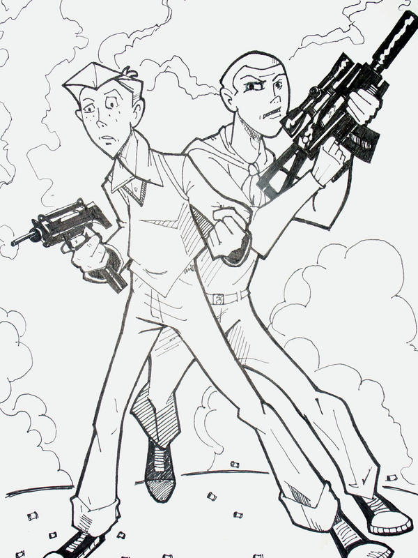 venture brothers coloring pages - photo#2